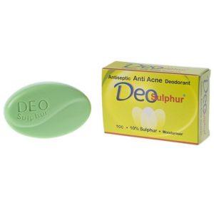 Deo Sulphur Transparent Soap Green